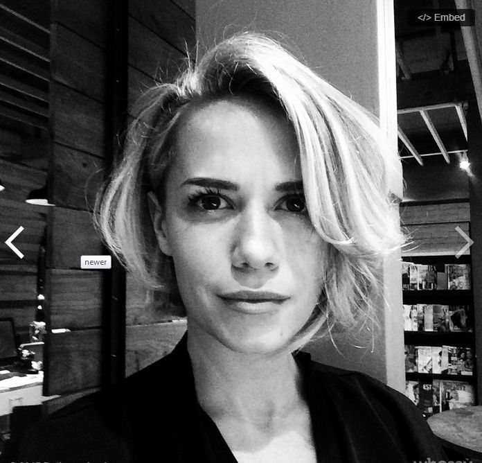 Bethany joy lenz new hair cut