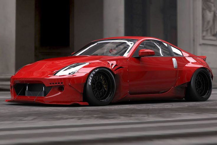 TRA Kyoto reveals Rocket Bunny wide-body kit for the Nissan 350Z