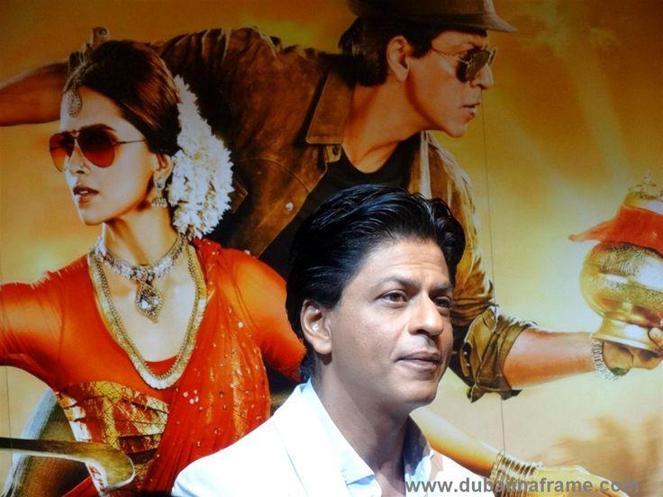 Indian Film Superstar Shah Rukh Khan aka SRK in Dubai for the promotional tour of Chennai Express