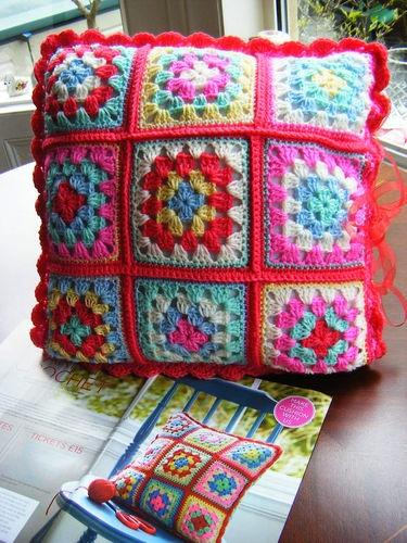 Cath Kidston granny cushion