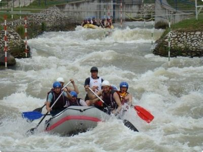 White water rafting activity #bratislava #stagdo