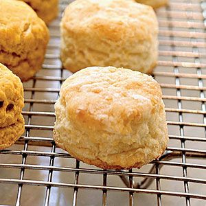 Flaky Buttermilk Biscuits - recipe comes with variations. Great as part of a ham and egg breakfast.