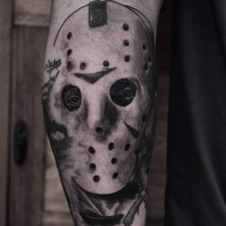 Friday the 13th jason voorhees tattoo in 2020 tattoos