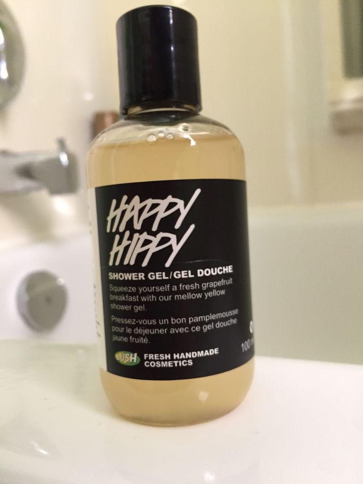 Happy Hippy shower gel.   Lush cosmetics