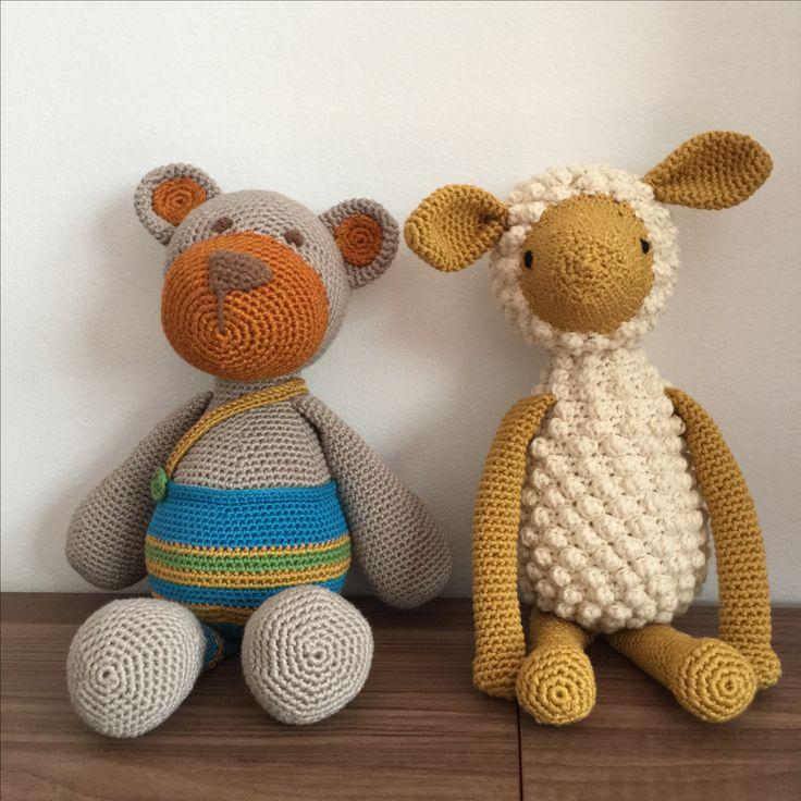 Amigurumi, toy, teddy bear, sheep, tığ ayı, tığ kuzu, örgü oyuncak