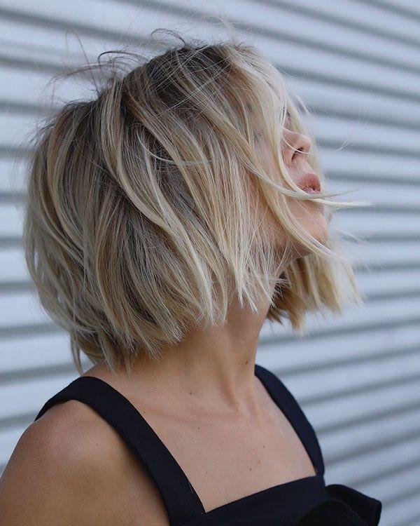 45 Popular Short Messy Hairstyles Hairstyles Pinterest