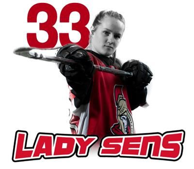 My girl, Ottawa Lady Sens, Provincial Women's Hockey League (PWHL) #33 2014-15 Season