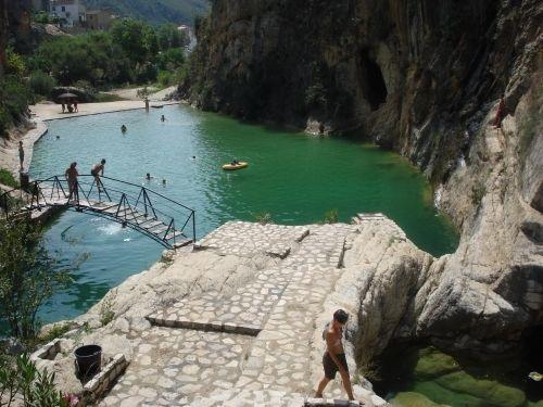 8 piscinas naturales comunidad valenciana