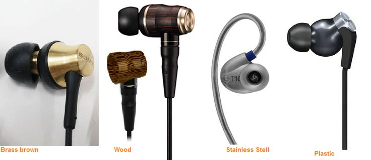 What earbuds do you like: wood, brass brown, stainless steel, or plastic
