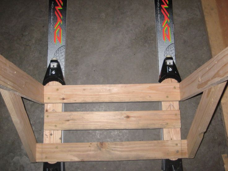 This instructable shows you how to simply turn your downhill skis into a kicksled. The kicksled attachment snaps into the ski bindings just like ski...