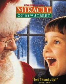 Miracle on 45th Street (1994) Dorey Walker and her daughter Susan are much too sensible to believe in anything as far-fetched as Santa Claus. But when a department store Santa named Kris Kringle claims he's the real thing, mother and daughter are given a special holiday gift. Cast: Richard Attenborough, Elizabeth Perkins, Dylan McDermott...11a