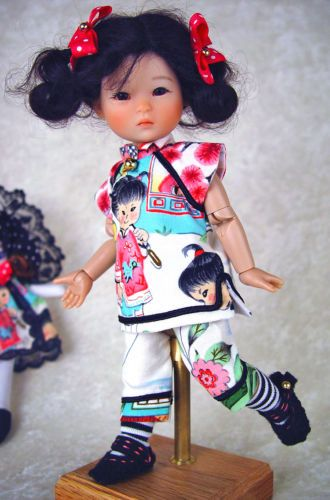 Tunic-pants-shoes-doll-fit-Ten-Ping-8-bjd-Little-Charmers-Doll-Designs