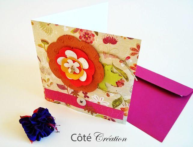 Cartes de souhait par Côté Création