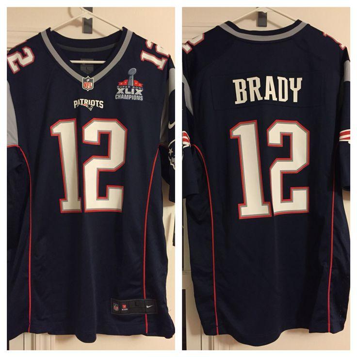 2015 Tom Brady Home Opener Replica, 2015 Patriots Pro Shop