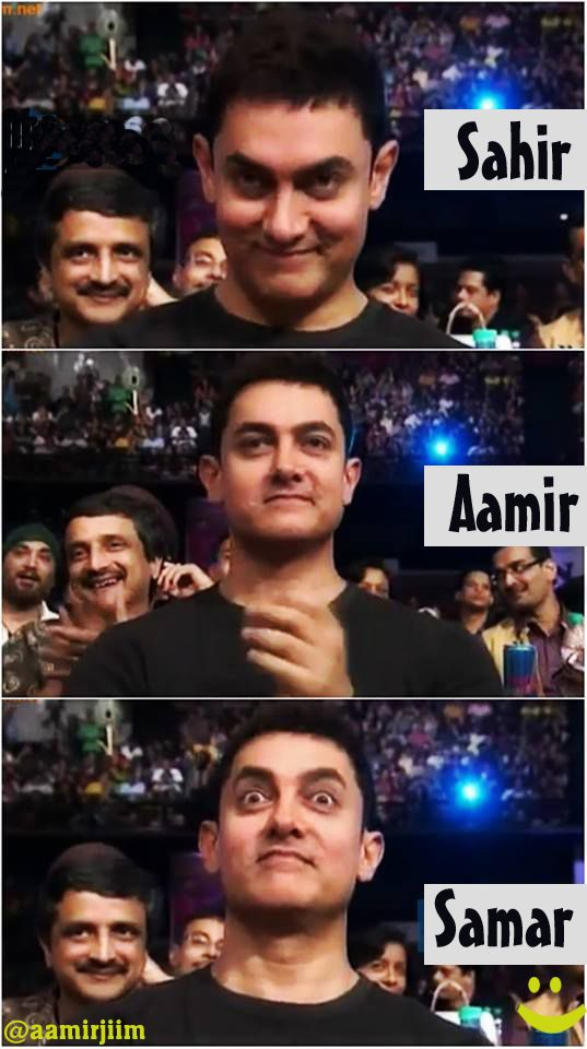 Aamir is the best...
