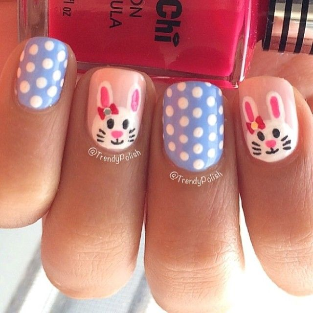 trendypolish easter #nail #nails #nailart