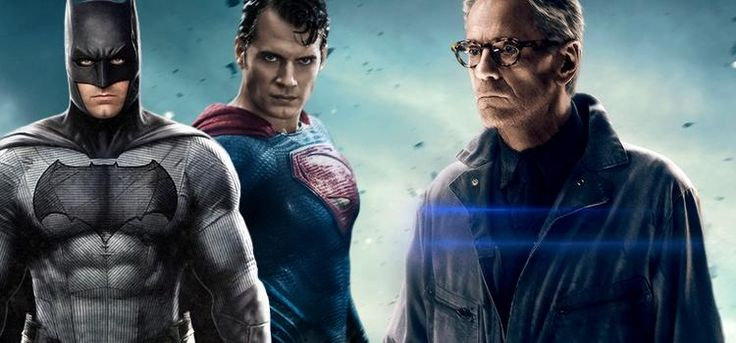 Batman vs Superman – Jeremy Irons diz que o filme mereceu as críticas recebidas!