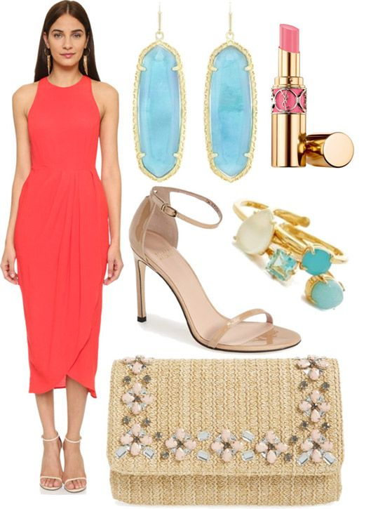semi formal wedding guest style guide via anna james of fash boulevard