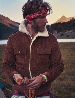Mango man cold mountain moda erkek, tips, erkek modası. Mountain Man Style, Mountain Fashion, Cold Mountain, Mens Outdoor Fashion, Mens Outdoor Clothing, Rugged Style, Men Fashion Show, Mens Fashion Suits, Lumberjack Style