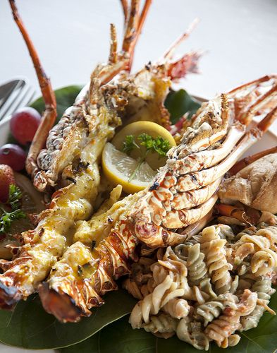 Crayfish at scilly cay in anguilla bwi food pinterest for Anguille cuisine
