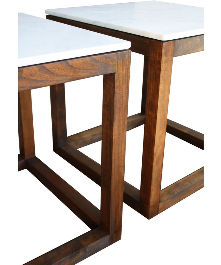 142 best images about credenzas coffee tables side for Solid wood cube side table