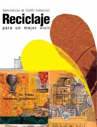 """Libro """"Reciclaje para un mejor vivir"""" Diseño, Diagramación, Portada"""