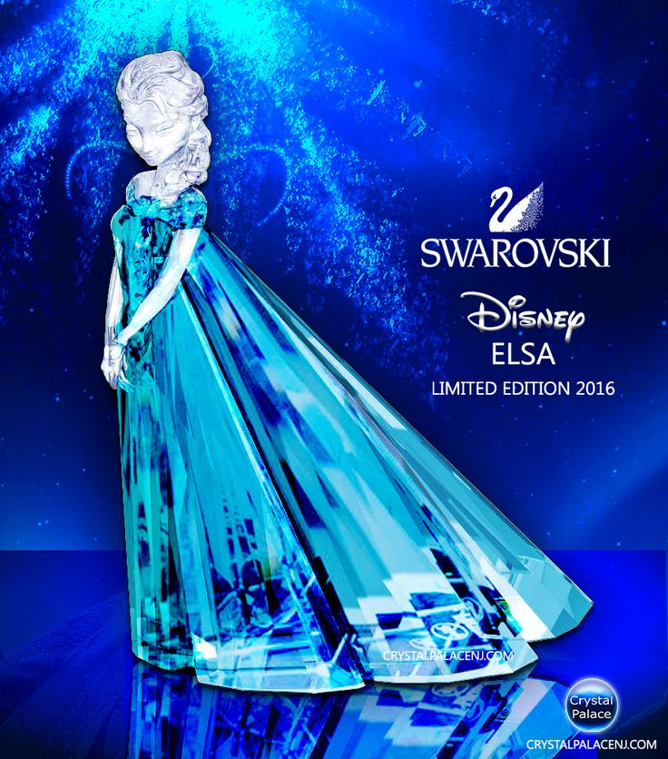 SWAROVSKI DISNEY ELSA LIMITED EDITION 2016                                                                                                                                                      More