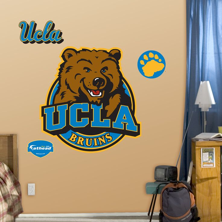 Ucla bruins logo ucla pinterest logos colleges and Bruins room decor