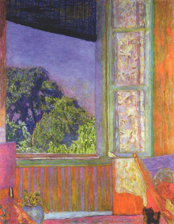 Pierre Bonnard - Open Window, 1921 More                                                                                                                                                                                 More