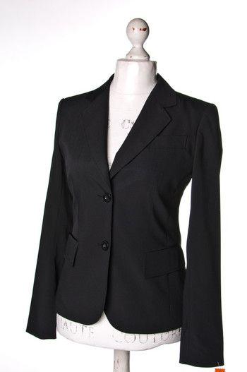 Czarny żakiet #BettyBarclay   #jacket #wzorcownia