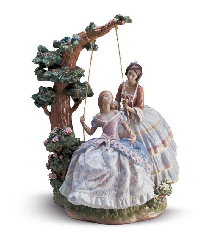 Lladro porcelain figurine a quiet conversation limited - Figuras de lladro precios ...