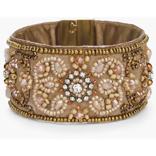 Chico's Rosabel Magnetic Bracelet ($45) ❤ liked on Polyvore featuring jewelry, bracelets, pink, pink jewelry, magnet jewelry, pink bangles, magnetic jewelry and magnetic bead jewelry