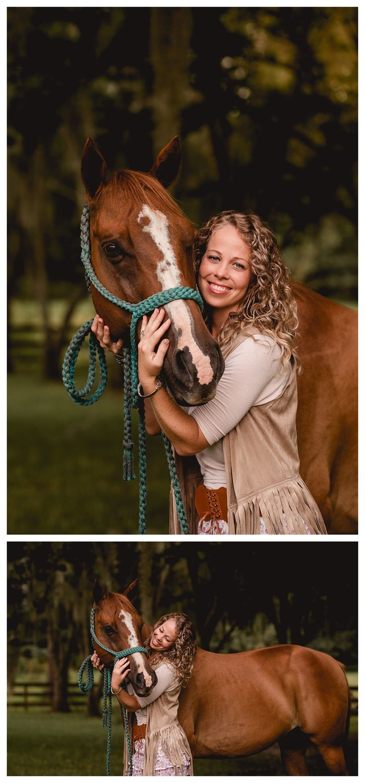 Horse and rider portraits in ocala fl shelly williams