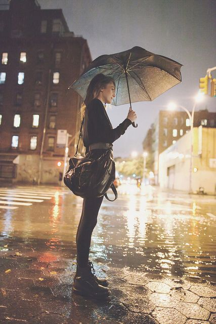 Samantha stand in the rain all alone no family no friends!