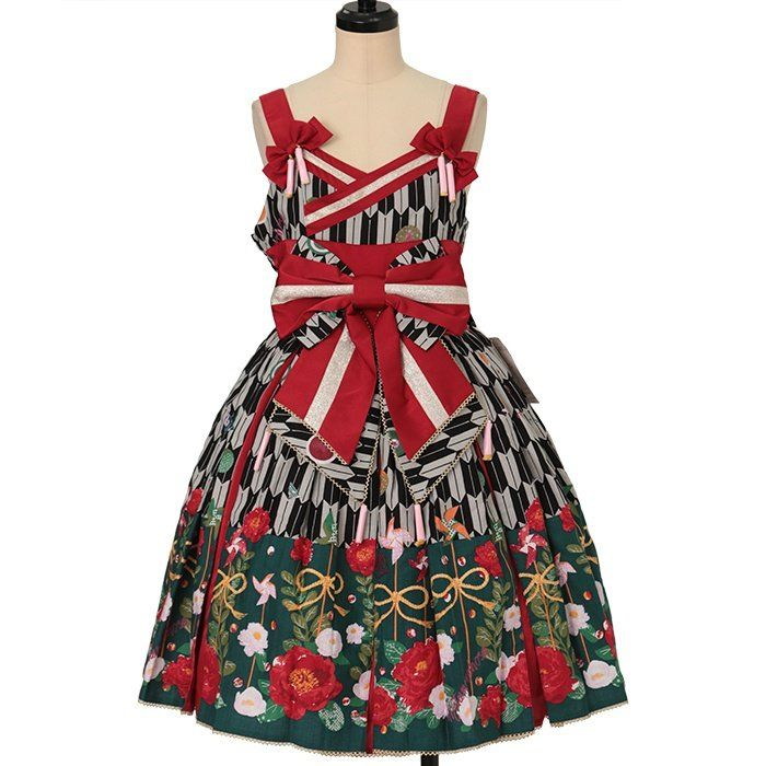 Hikara Komachi Tuck JSK  metamorphose  https://www.wunderwelt.jp/en/products/w-27408    Worldwide shipping available ♪   How to order ↓  https://www.wunderwelt.jp/en/shopping_guide  * Japanese online shop for second-hand Lolita Fashion *Wunderwelt *