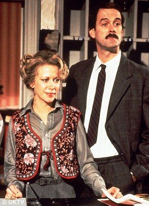 connie booth and john cleese - #1