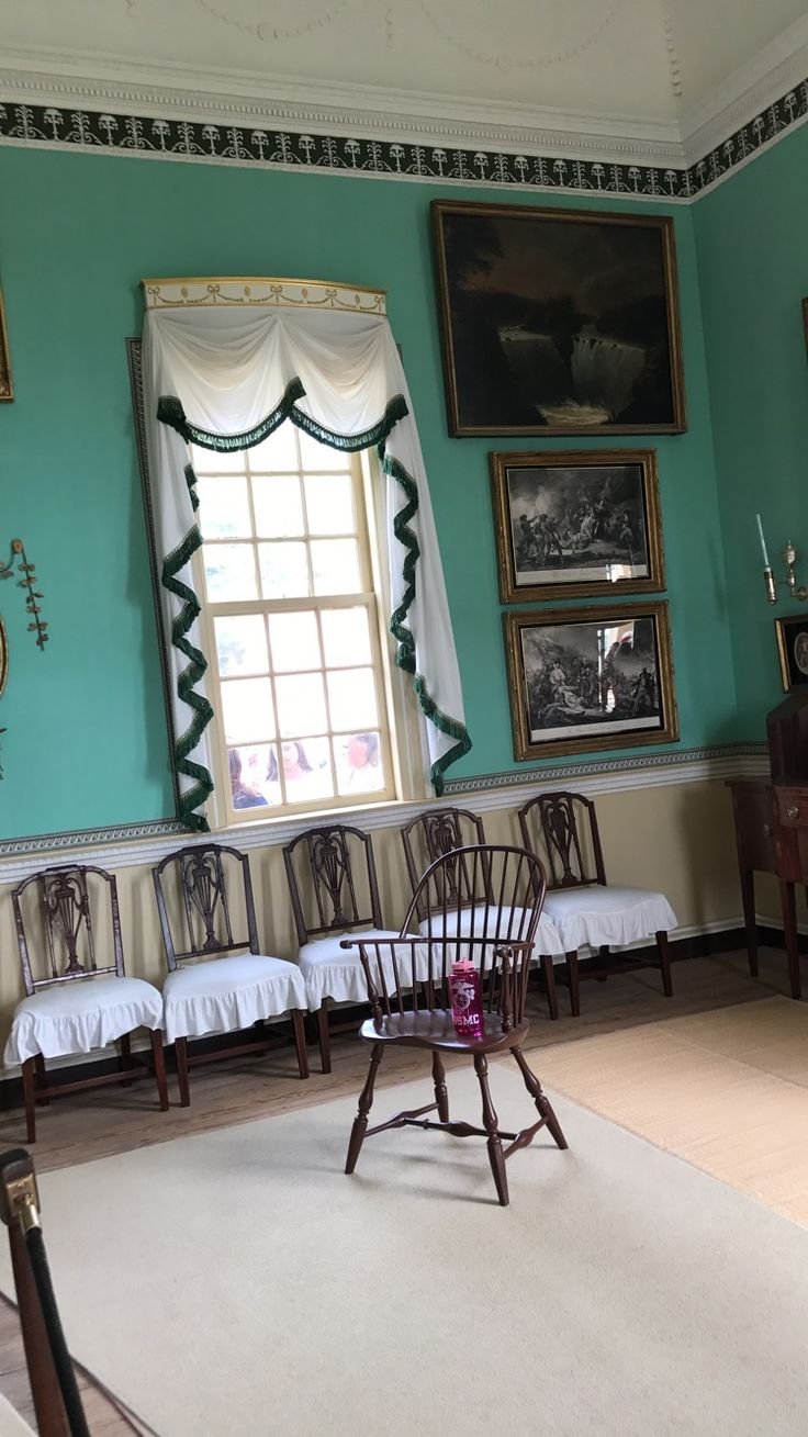 The dancing room in Monticello