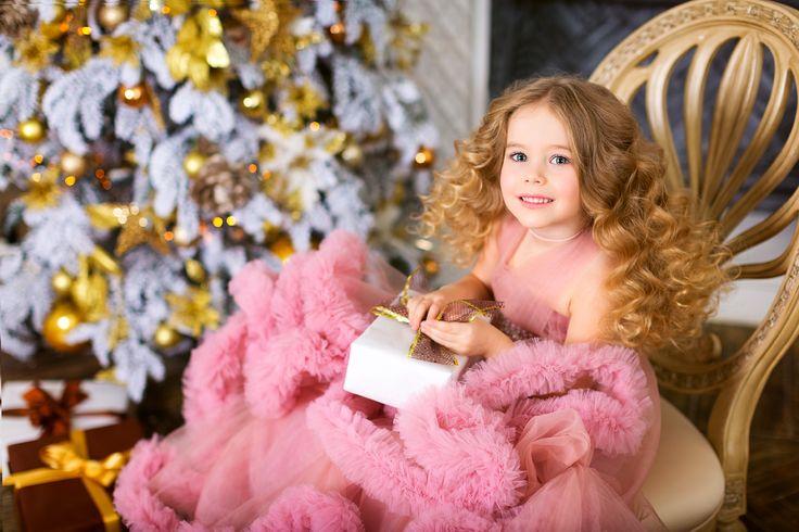 Детское платье облако BABY CLOUD PINK | Прокат платьев