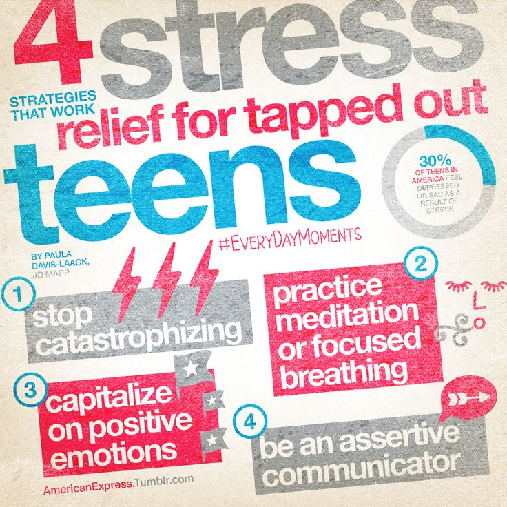 Teens And Stress Relief 109
