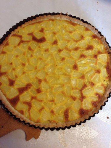 Tarte ananas et noix de coco (créole) : Recette de Tarte ananas et noix de coco (créole) - Marmiton