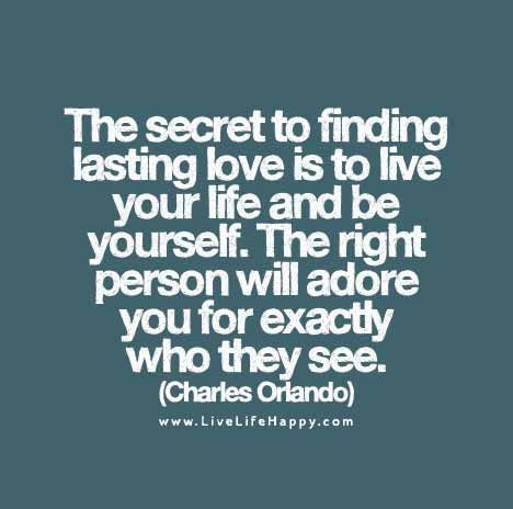 The Secret to Finding Lasting Love