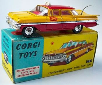 Corgi Toys 221 Chevrolet Chicago Taxi