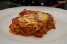 Aprende la verdadera receta de lasagna de carne - IMujer