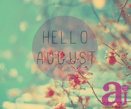 Happy 1st of August! ♥ 30 more days, BER months is fast approaching!:)  Have a nice month ahead everyone. Ü