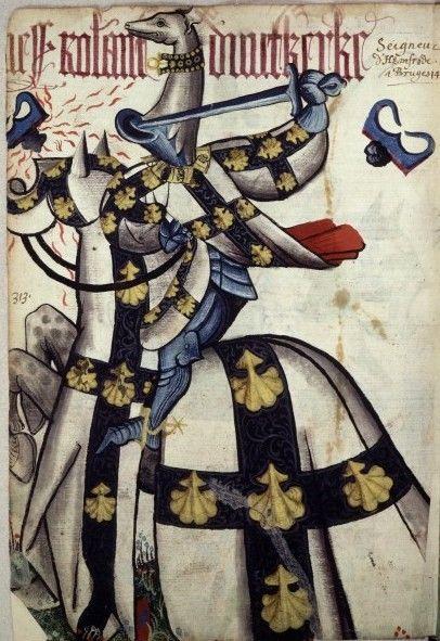 Jean Lefèvre de Saint-Rémy,Grand Armorial équestre de la Toison d'or,1431-1435?
