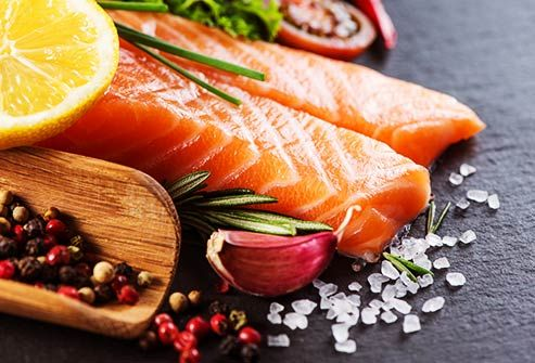 Want shiny, healthy hair? WebMD shows you how to get it -- starting in your kitchen. From salmon to eggs, guava to oysters, these foods have nutrients that are good for your hair.