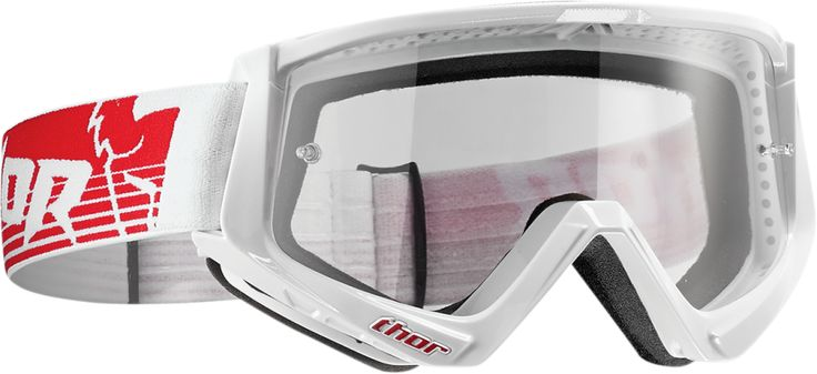 Thor MX Conquer Motocross Goggles Clear Anti-Fog Lens Adult