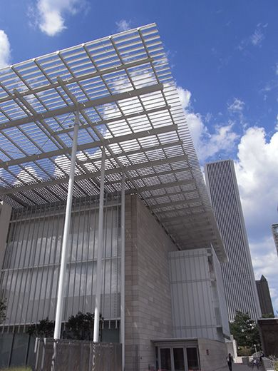 The Art Institute of Chicago, The Modern Wing.  Renzo Piano