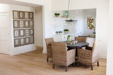 Dining and kitchen - contemporary - dining room - los angeles - Kathleen DiPaolo Designs