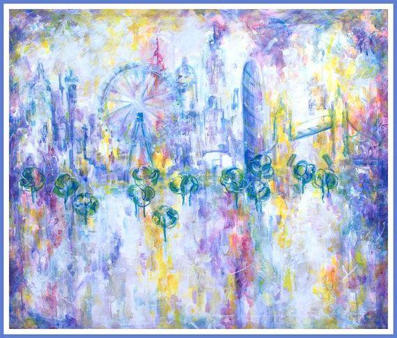 Art giclee painting fine art print modern by MarilionFineArt